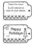 Christmas Present for Parents Coupon Booklet