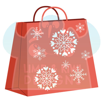 Christmas Presents 2 Clipart | Instant Download Vector Art | Commercial Use Clip