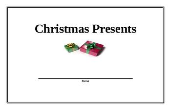 Christmas Presents Beginning Reader (easy)