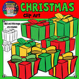 Christmas Presents Clip Art Freebie