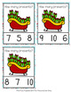 Christmas Presents Count and Clip Cards Numbers 0-10