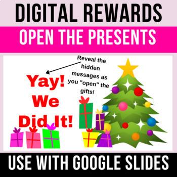 Christmas Presents Digital Rewards (2)   Whole Class Behavior Incentive   Google