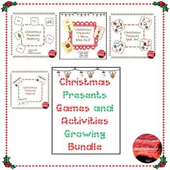 Christmas Presents Games Growing Bundle