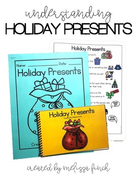 Christmas Presents- Social Story for Student's with Special Needs