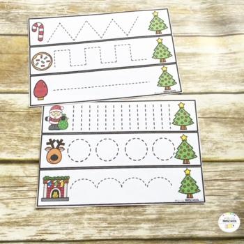 Christmas Prewriting Skills