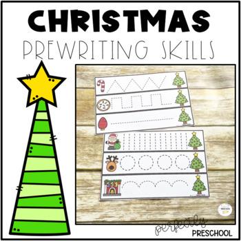 Christmas Prewriting Skills {Dollar Deal}