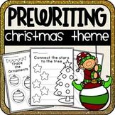 Christmas Prewriting Worksheets