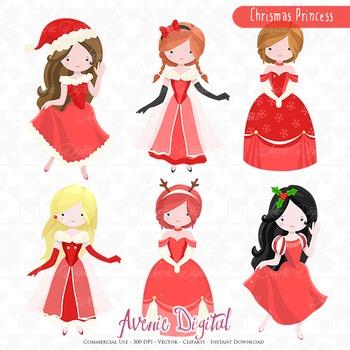 Christmas Princess.Christmas Princess Clipart Vectors Clip Art Images