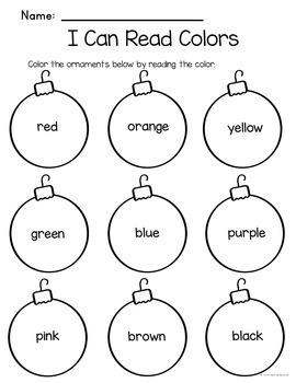 Christmas Print and Go