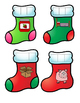 Christmas Print and Go Math and Literacy Centers