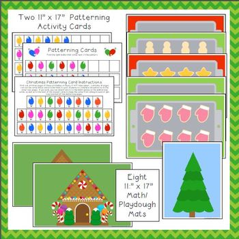 Christmas Printable Activities for Preschool and Kindergarten