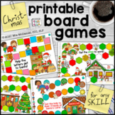 Christmas Printable Board Games for Any Skill