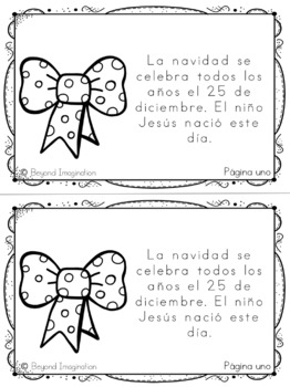 *Christmas Printable Booklet | SPANISH version