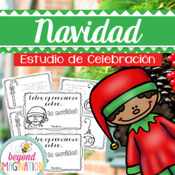 Christmas Printable Booklet | SPANISH version