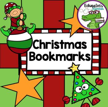Christmas Printable Bookmarks