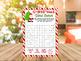 Christmas Printable Game for Kids, Classroom Games and Activities, Bundle