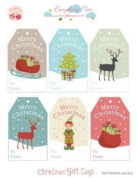 Christmas Printable Gift Tags2