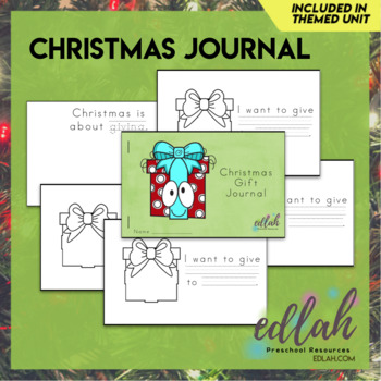 Christmas Printable Journal