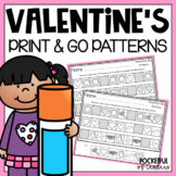 Valentine's Day Pattern Printables