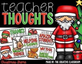 Christmas Teacher Notes