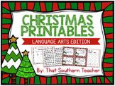 Christmas Printables - Language Arts Edition