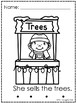 Christmas Printables - Christmas Tree Read & Color