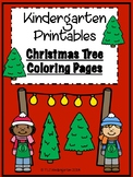 Christmas Printables - Christmas Tree Read & Color