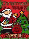 Christmas Printables (and more) for Kindergarten