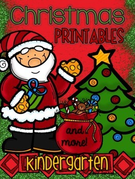 Christmas Printables (and more) for Kindergarten