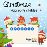 Christmas Printables for K-1 {FREEBIE}