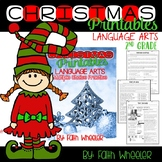 Christmas Printables for Language Arts