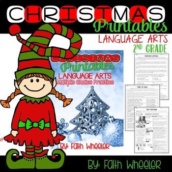 Christmas Printables for Language Arts