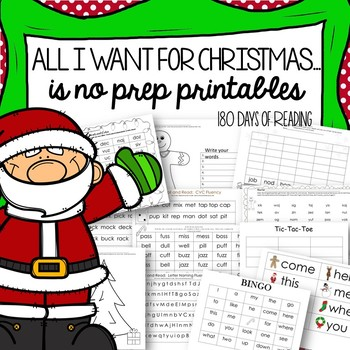 Christmas Worksheets and Activities