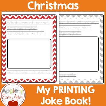 Christmas Printing Joke Book