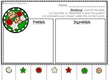 Christmas Probability Printables