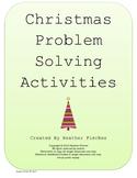 Christmas Problem Solving - 4th Grade Math Common Core-jou