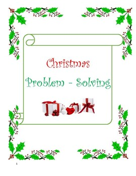 Christmas Problem-Solving Scenarios
