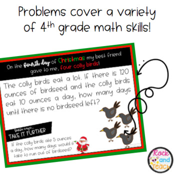 Christmas Problem Solving Task Cards