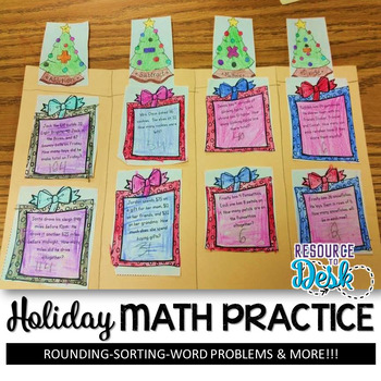 Holiday Problem Solving and Math Review Practice