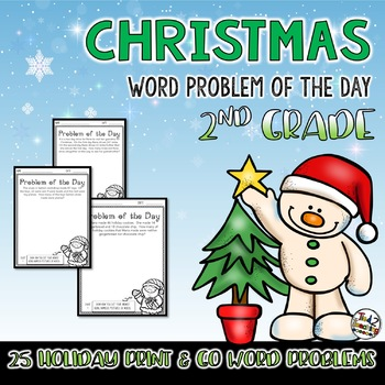 Christmas Problem of the Day (2nd Grade)