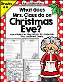 Christmas Procedural Writing Activity