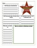 Christmas Promise Worksheet