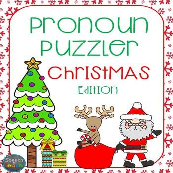 Christmas Pronoun Puzzler