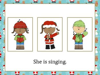 Christmas Pronouns: He, She, They