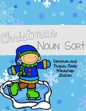 Christmas Proper and Common Noun Sort