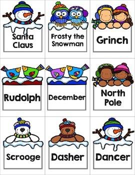 Christmas Proper and Common Noun Sort