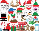 Christmas Props - Clip Art Digital Files Personal Commerci