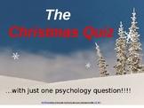 Christmas Psychology Quiz