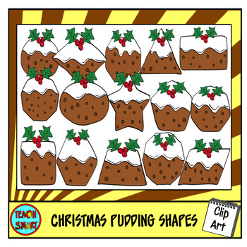 Christmas Pudding 2D Shapes