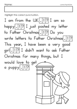 Christmas Punctuate It!
